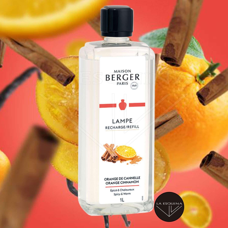 Parfum de Maison LAMPE BERGER Orange de Cannelle 1 L