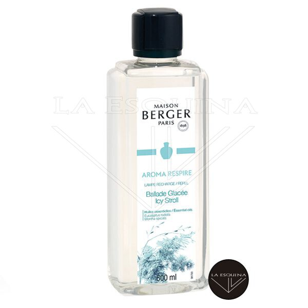 Recambios Lampe Berger Respire Ballade Glacée aroma eucalipto y menta