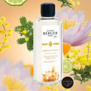 Recambio Lamper Berger aroma bergamota, naranja y mandarina