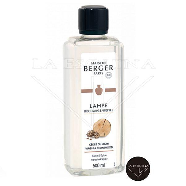 Recambio Lampe Berger Cèdre du Liban aroma madera y citricos