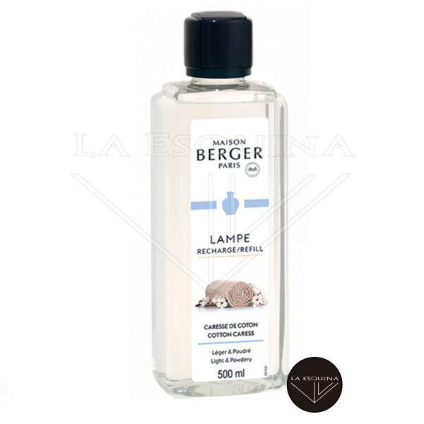 Recambio Lampe Berger Caresse de Coton 1L Perfume de Hogar ligero y empolvado