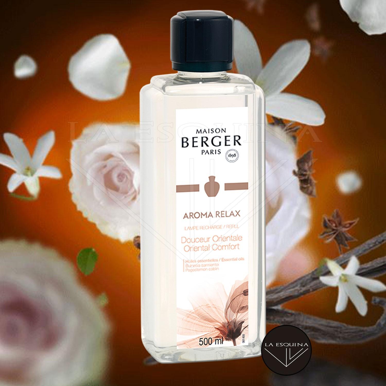 Parfum de Maison LAMPE BERGER Arome Relax 500ml