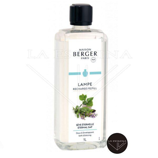 Recambio Lampe Berger Sève Eternelle 1 L aroma menta aloe vera