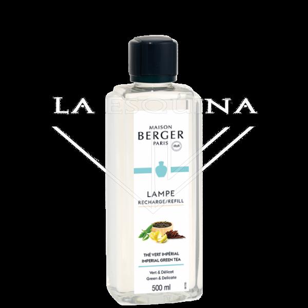 Recambio Lampe Berger Thé Vert Impérial 500ml aroma hierba cortade y ralladura de limon