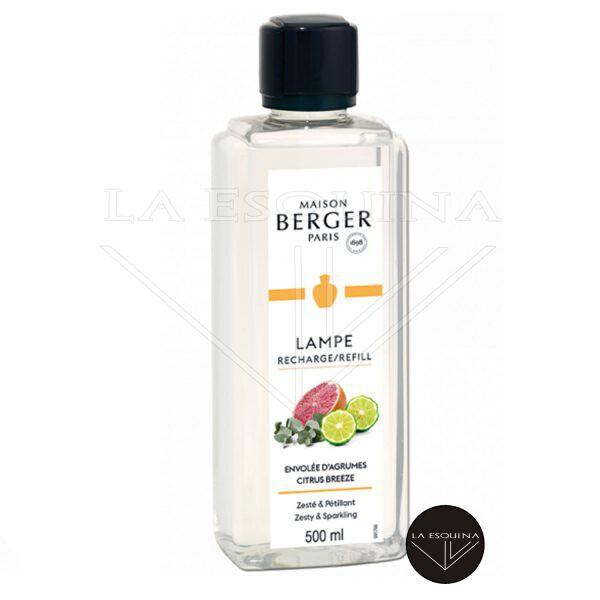 Recambio Lampe Berger Envolée d'Agrumes 500 ml aroma pomelo y naranja