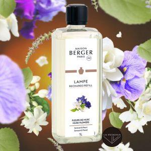 Parfum de Maison LAMPE BERGER Fleurs de Musc 1L aroma jazmin y nardo