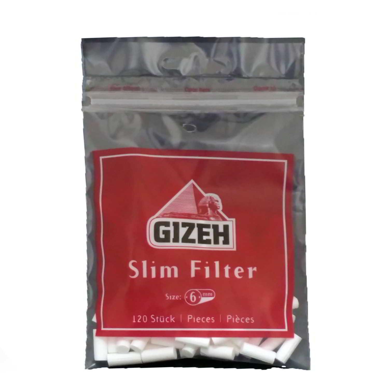 Filtros GIZEH Slim 6 mm