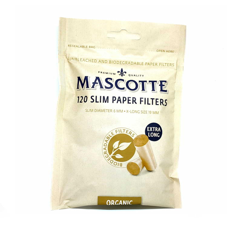 Filtros MASCOTTE Organic Slim 6 mm