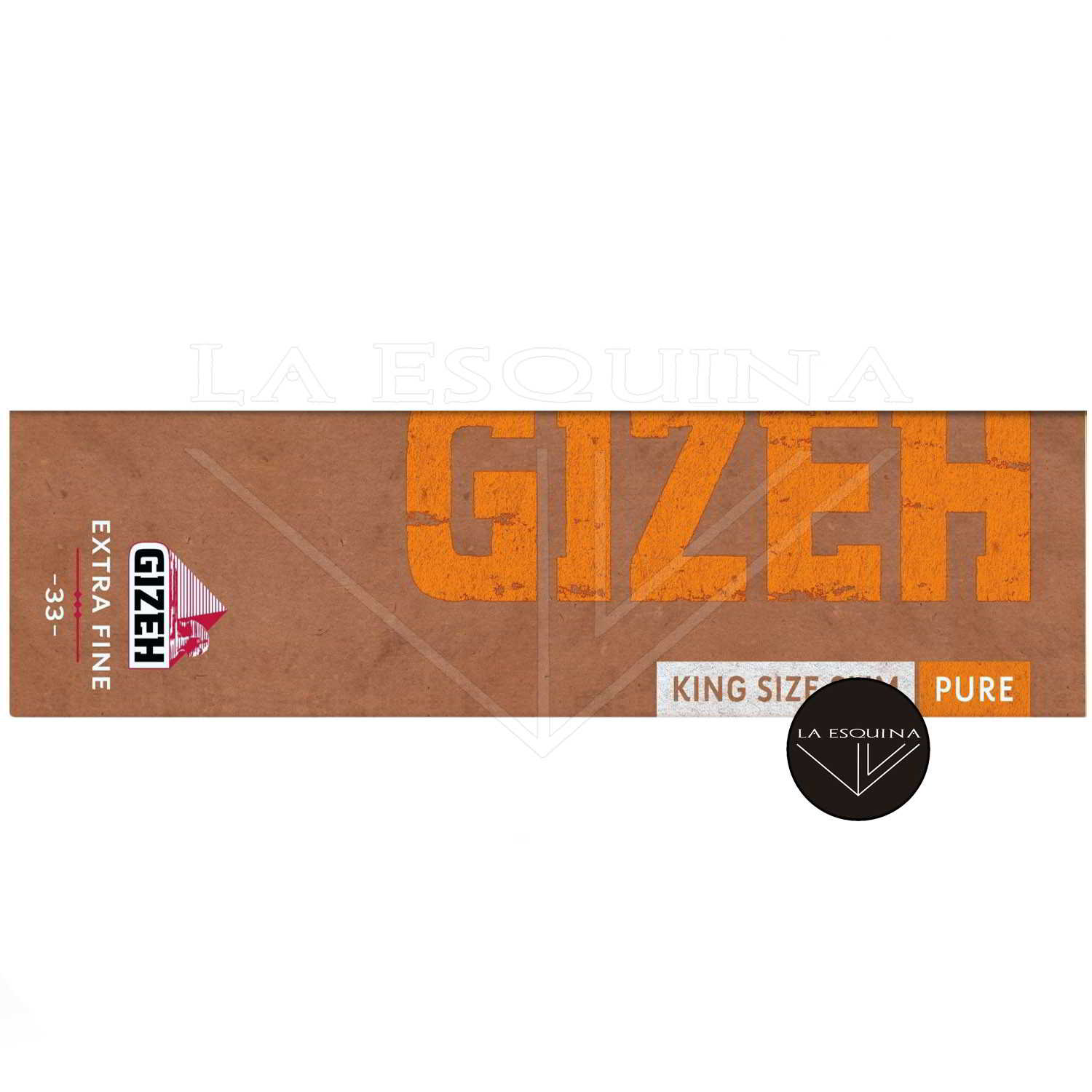 Papel GIZEH Natural Largo 110 mm