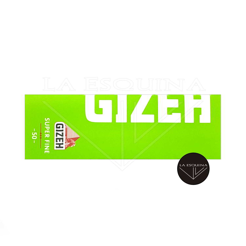 Papel GIZEH Verde Corto 70 mm