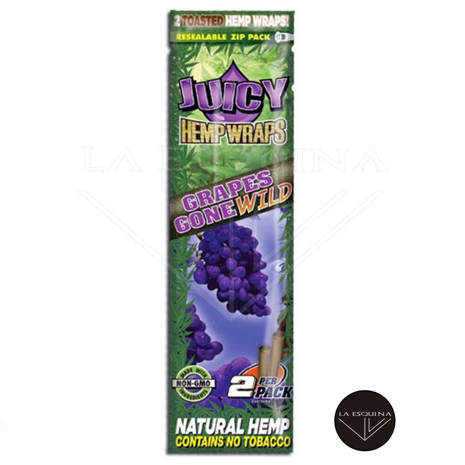 Papel JUICY HEMP WRAPS Blue