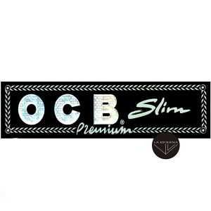 Papel OCB Premium Largo 110 mm papel ultrafino de tamaño grande 110 mm,cada librito contiene 32 papelitos