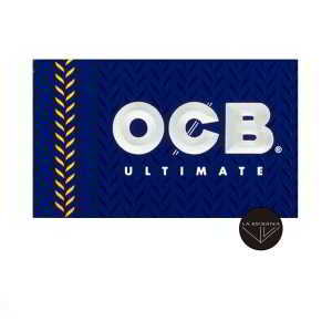 Papel OCB Ultimate 70 mm ultrafino, cada librito contiene 100 papelitos