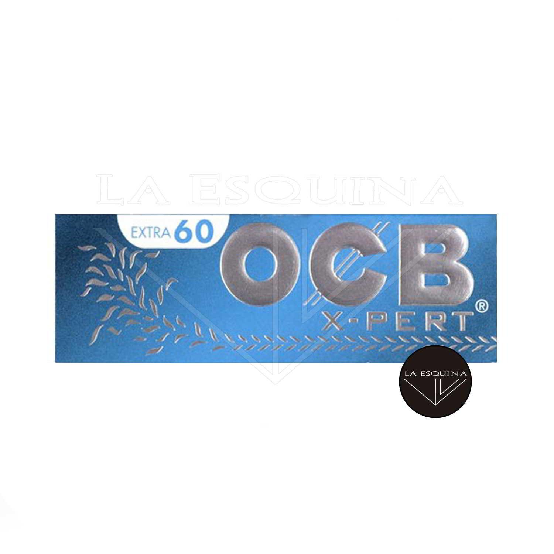 Papel OCB X-PERT Azul Corto 70 mm