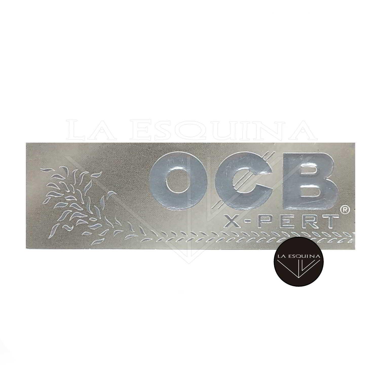 Papel OCB X-PERT Plata 78 mm