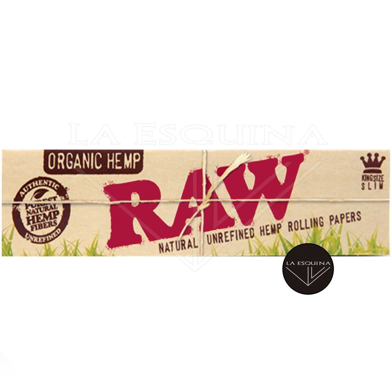 Papel Orgánico RAW Largo 110 mm