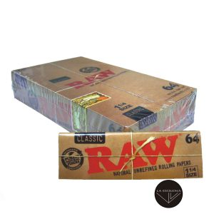 Caja de 24 Papel RAW 78 mm 64 Papeles