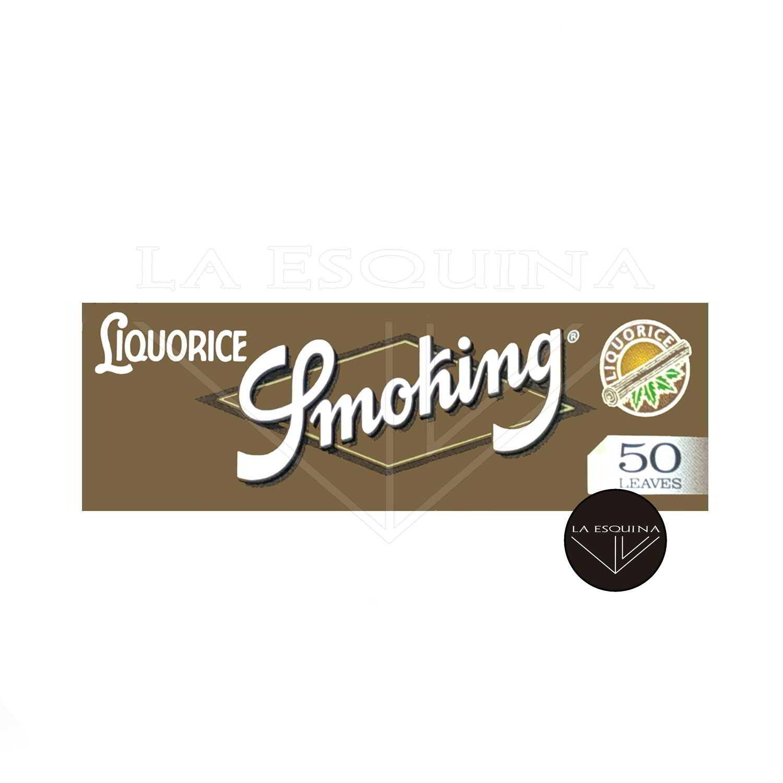 Papel SMOKING Liquorice 70 mm