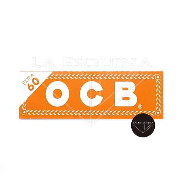Papel de liar OCB Naranja de 70 mm, cada librito contiene 60 hojas