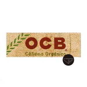 Papel de fumar OCB Organico de 78 mm,papel organico natural,cada librtito contiene 50 papelitos