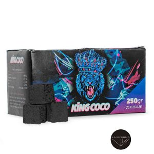 Carbon KING COCO 250g natural de larga duracion