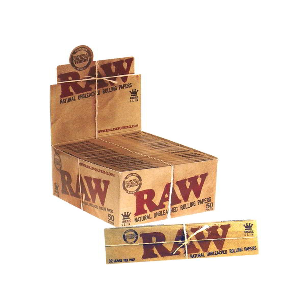 Caja de 50 Papel RAW Largo 110 mm