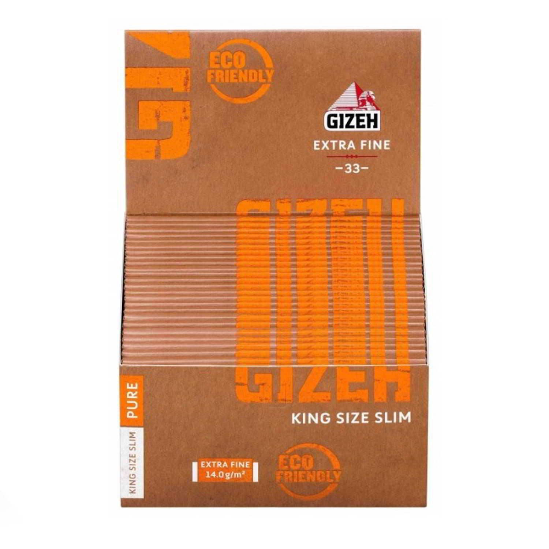 Caja de 50 Papel GIZEH Natural Largo 110 mm