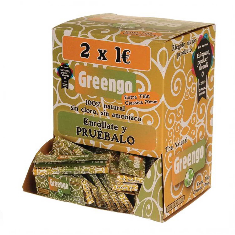 Caja de 100 Papel Greengo 78 mm