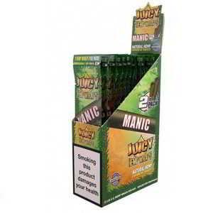 Caja de 25 paquetes Juicy hemp wraps Manic