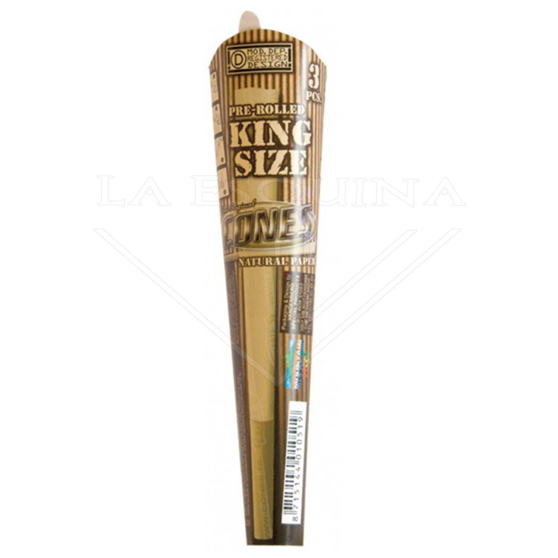 Tubos CONES Natural King Sized 3