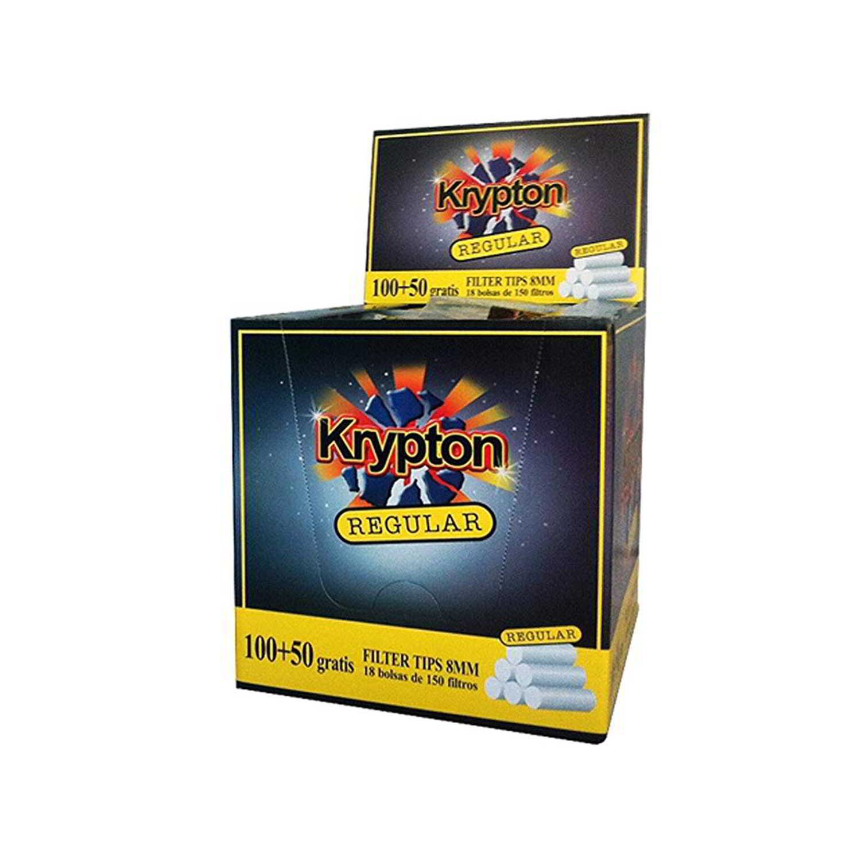Caja de 18 Filtros KRYPTON Regular 8 mm