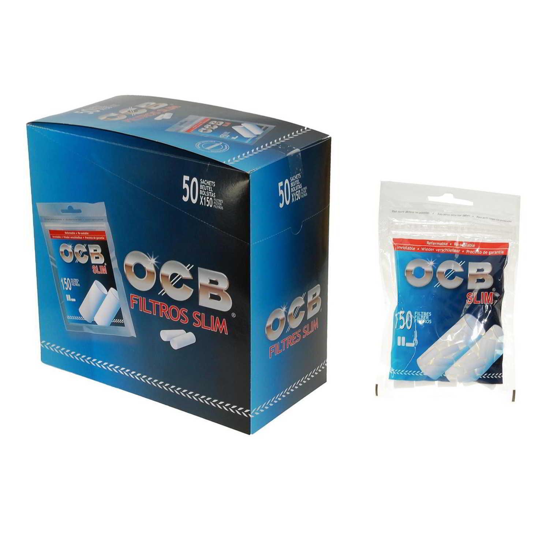 Caja de 50 Filtros OCB Slim 6 mm