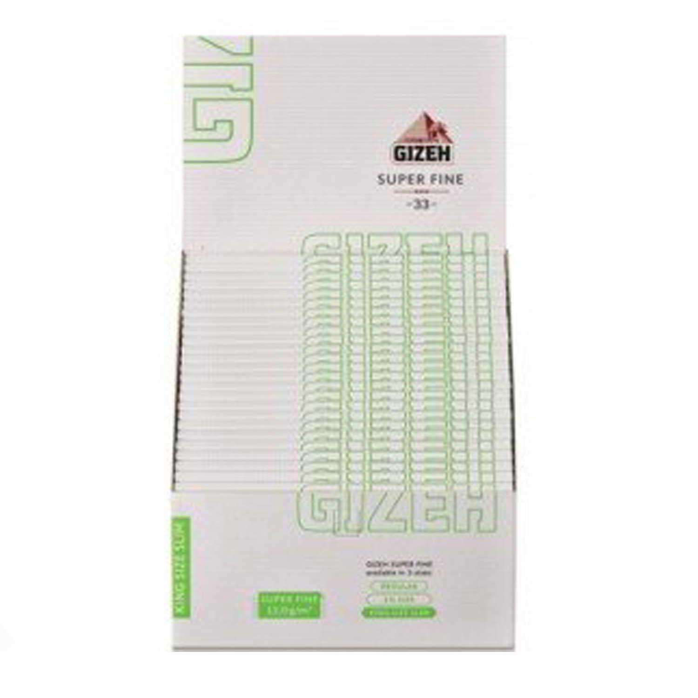 Caja de 50 Papel GIZEH Magnético Largo 110 mm