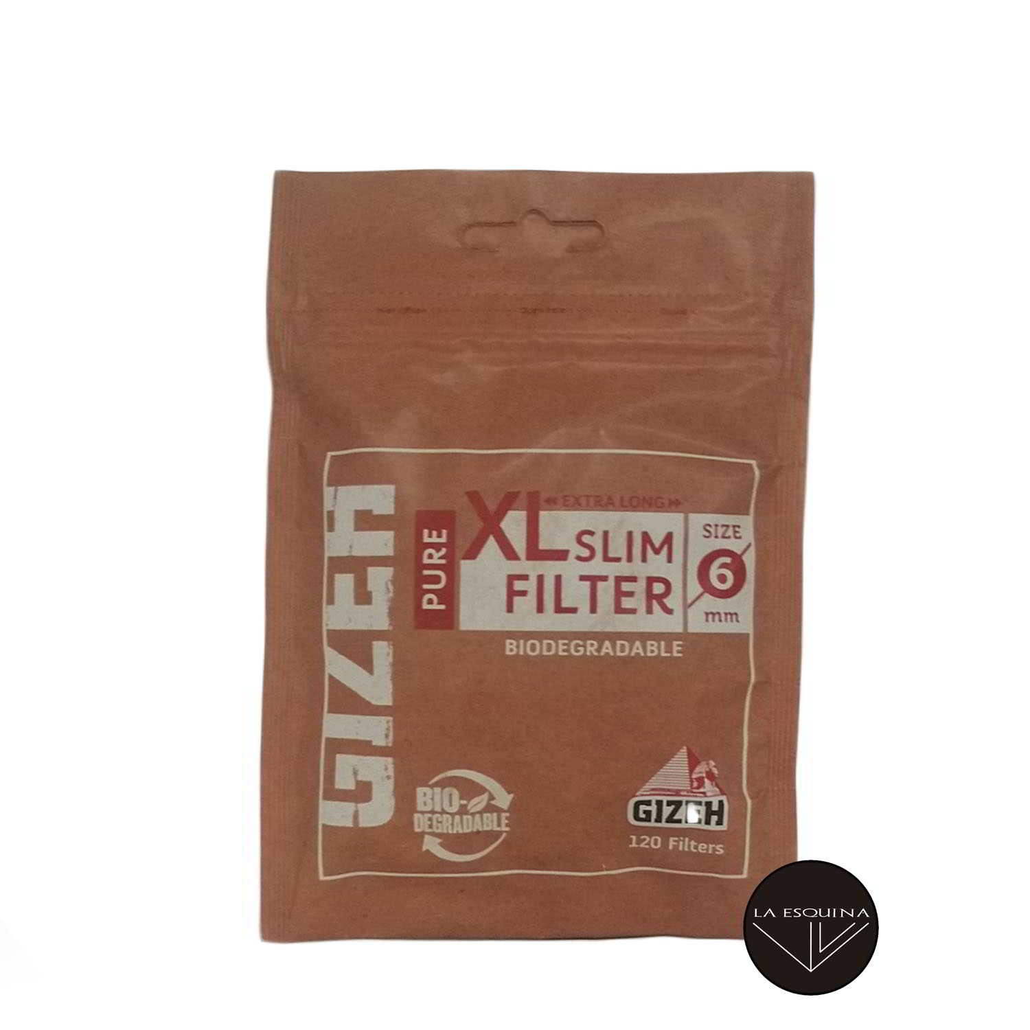 Filtros GIZEH Largo Pure XL 6 mm