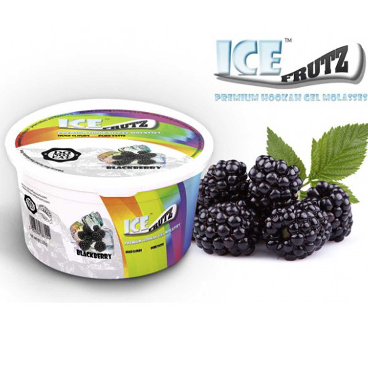 Gel ICE FRUTZ – 100 g. – Blackberry