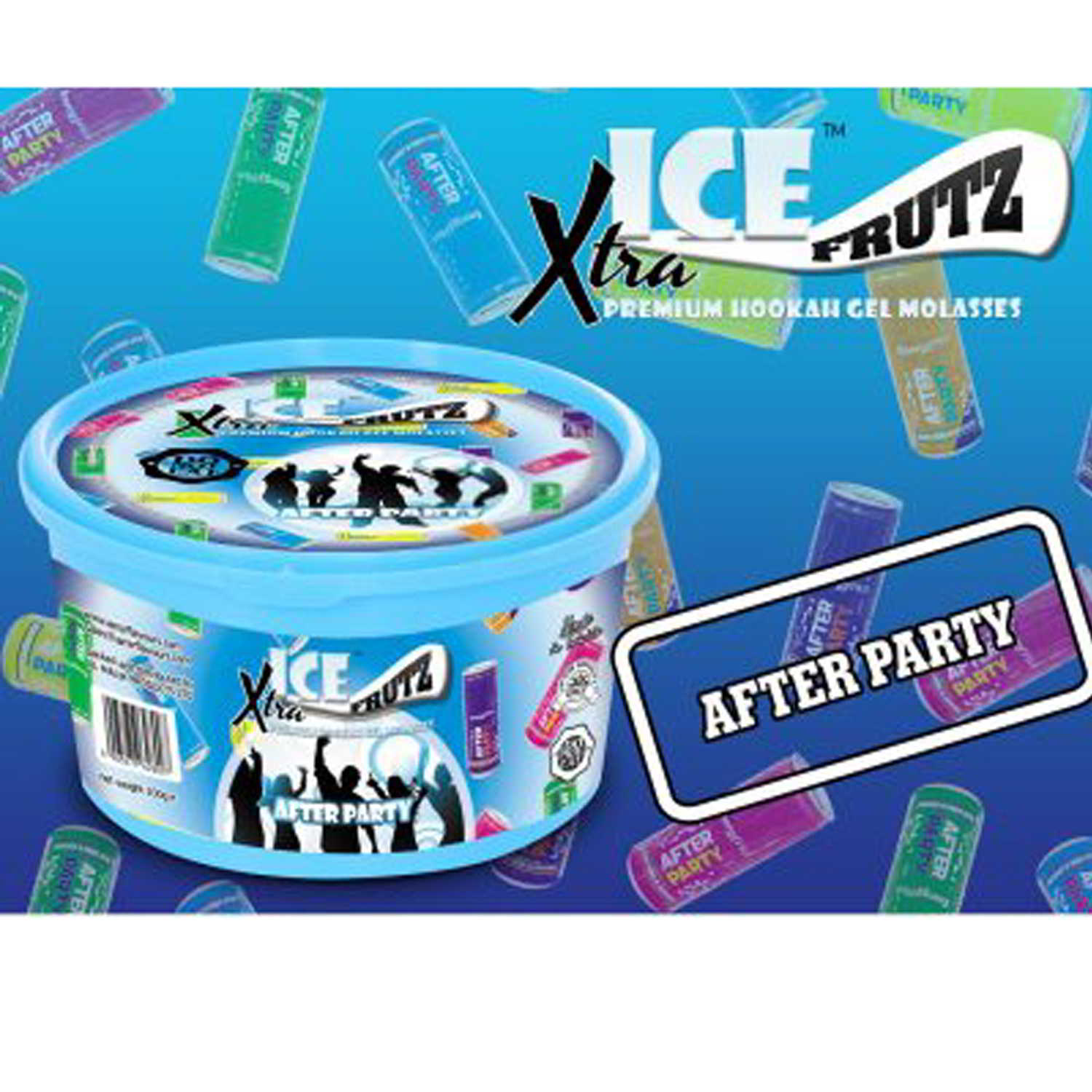 Gel ICE FRUTZ Xtra – 100 g. – After Party