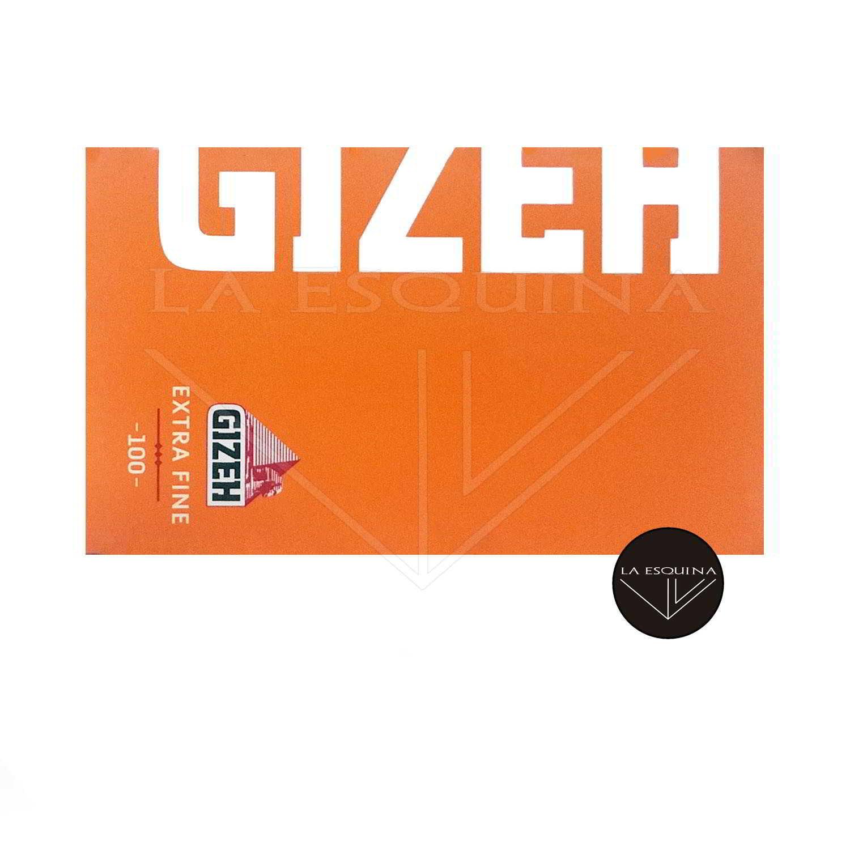 Papel GIZEH Naranja Doble 70 mm