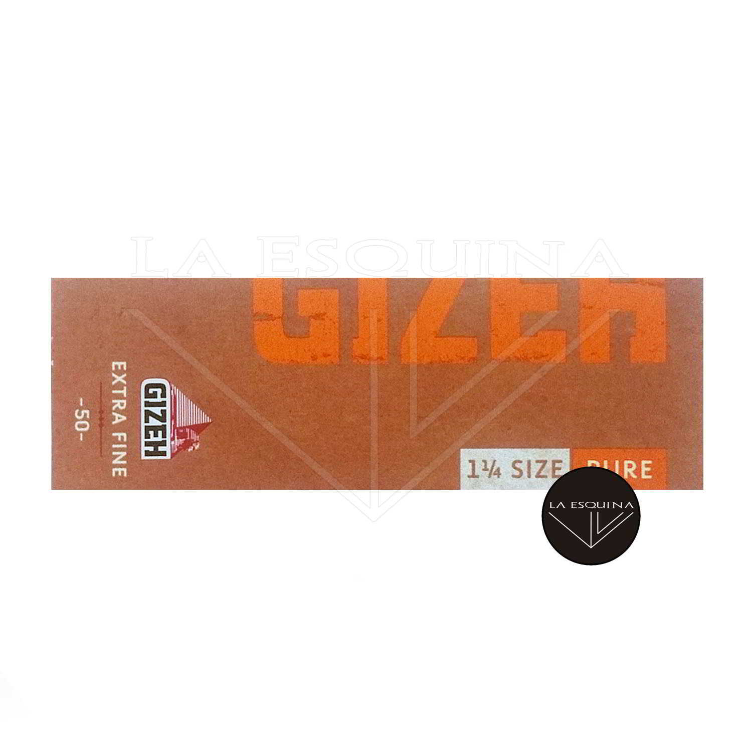Papel GIZEH Pure Natural 78mm
