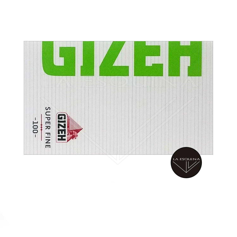 Papel GIZEH Verde Magnético Doble 70mm