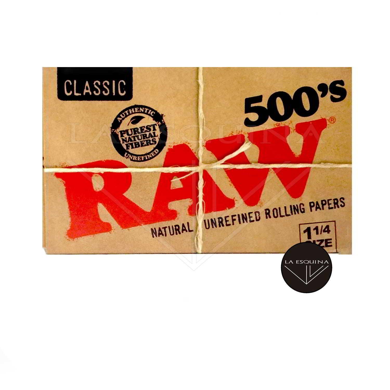 Papel RAW Bloc 500 78 mm