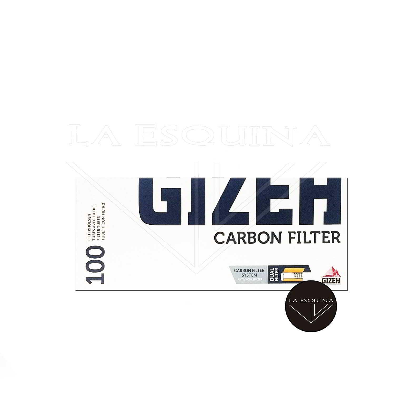 Tubos GIZEH 100 Carbón