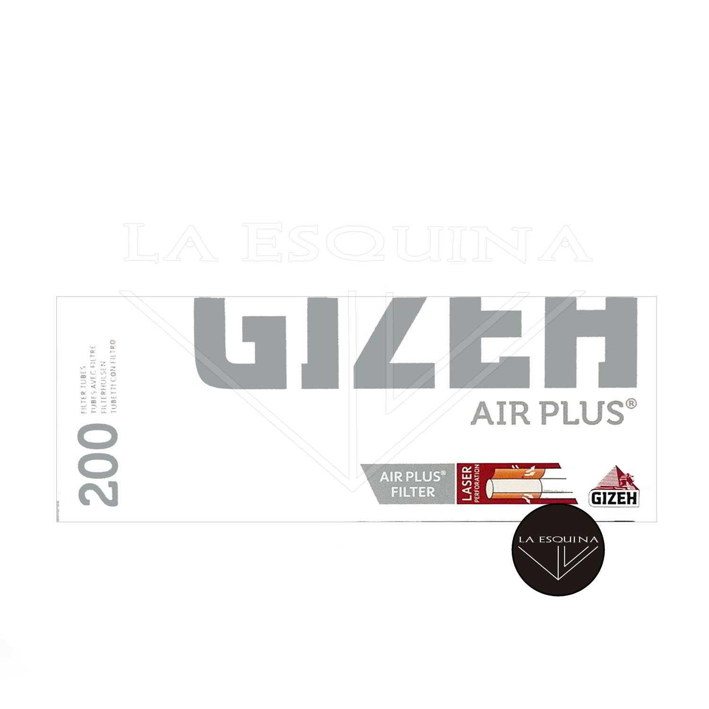 Tubos GIZEH Air Plus 200