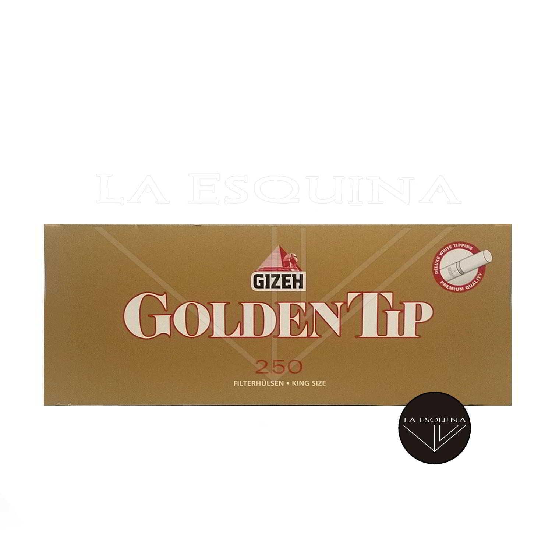 Tubos GIZEH 250 Golden