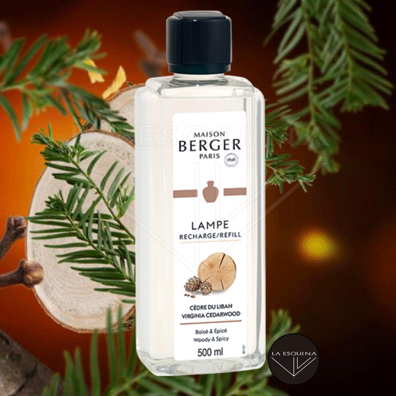 Parfum de Maison LAMPE BERGER Cèdre du Liban 500ml