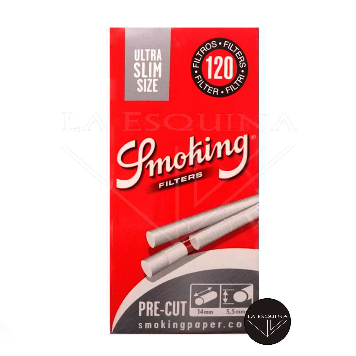Filtros SMOKING Ultra Finos 5.5 mm