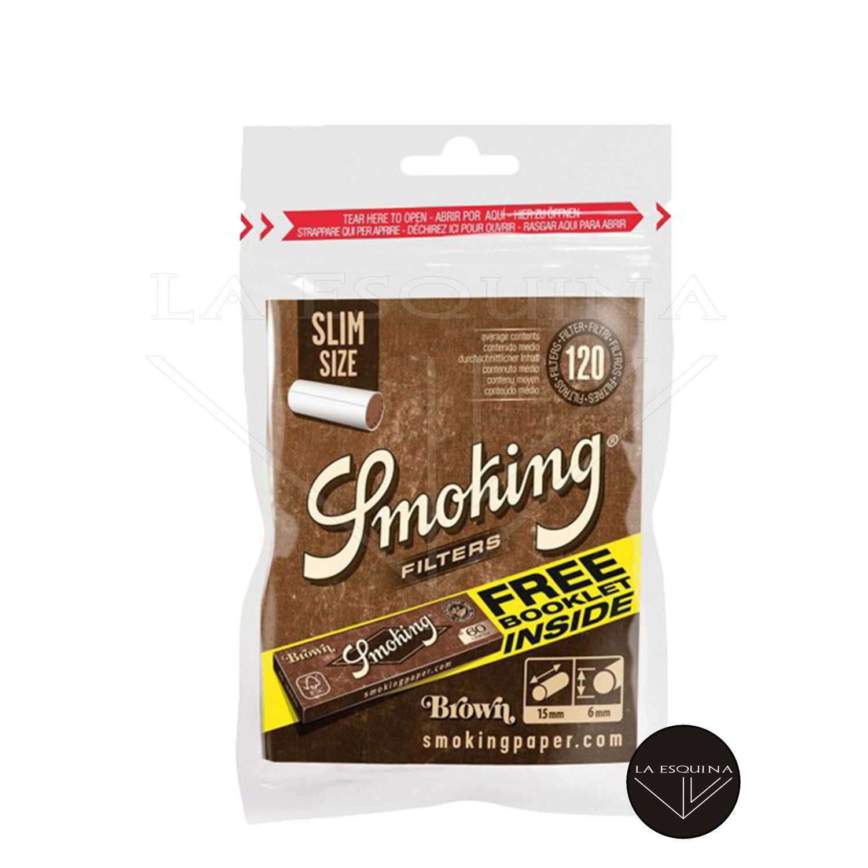 Filtros SMOKING Organicos 6 mm + Papel