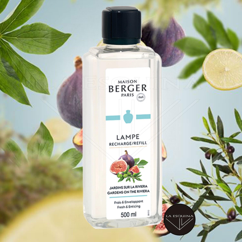 Parfum de Maison LAMPE BERGER Jardins sur la Riviera 500ml