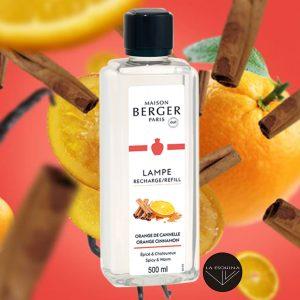 Recambio Lampe Berger Orange de Cannelle aroma naranja y canela