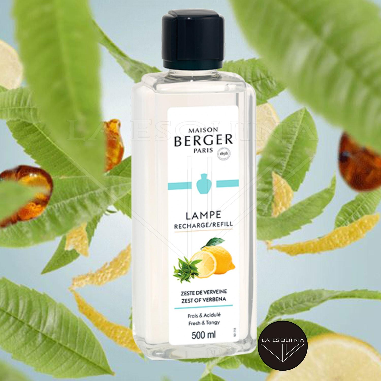 Parfum de Maison LAMPE BERGER Zeste de Verveine 500ml