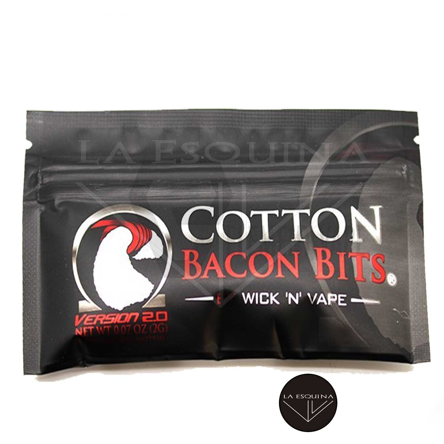 Algodón Cotton Bacon Bits v2 WICK 'N' VAPE